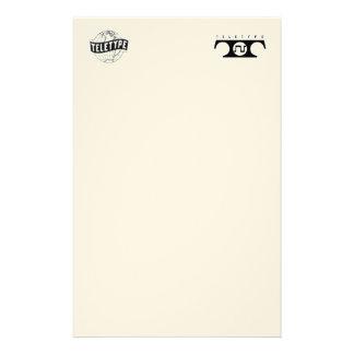 Teletype Stationary (Both Logos) Stationery