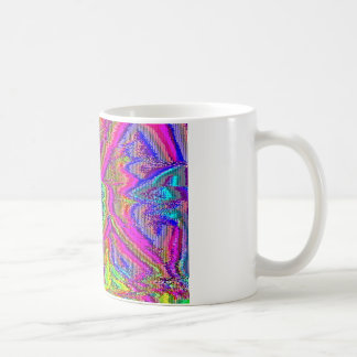 Televise Awakening (Glitch art) Coffee Mug