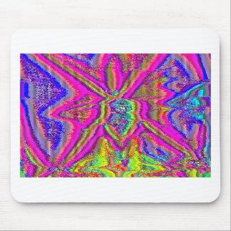 Televise Awakening (Glitch art) Mouse Pad