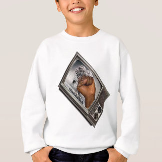 Televised Revolution; The fist of Revolution Sweatshirt