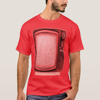 television 1 4 T red T-Shirt