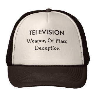 Television and Deception Hat