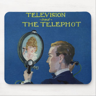Television and The Telephot Mouse Pads