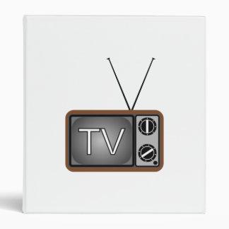 Television Vinyl Binder