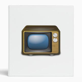 Television Vinyl Binders