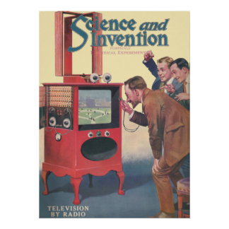 Television By Radio Poster