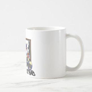 Television Crossover Universe Classic White Coffee Mug