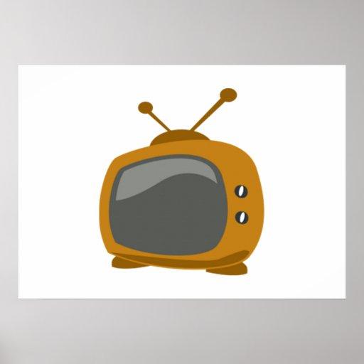 Televisión de Brown Posters