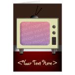 televisión de los años 50 felicitacion