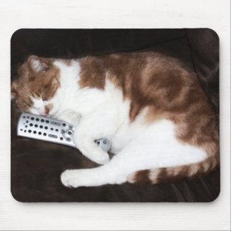 Televisión de última hora tapete de raton