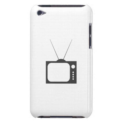 Televisión del vintage iPod touch Case-Mate funda