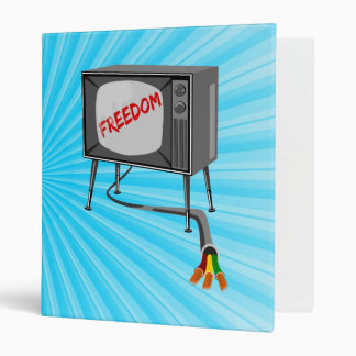 Television Freedom Cut The Cord Binder