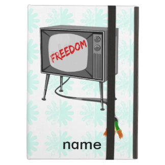 Television Freedom Cut The Cord iPad Air Cases