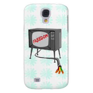 Television Freedom Cut The Cord Samsung S4 Case