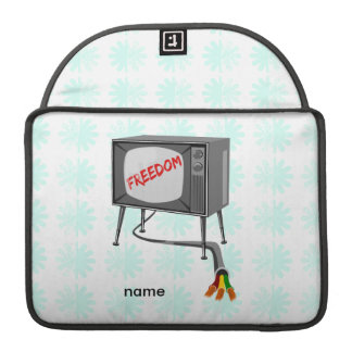 Television Freedom MacBook Pro Sleeves