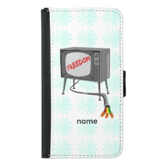 Television Freedom Samsung Galaxy S5 Wallet Case