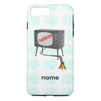 Television Freedom Turn Off Your Device iPhone 7 Plus Case