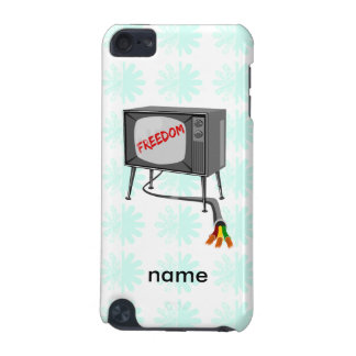 Television Freedom Turn Off Your Device iPod Touch 5G Cover