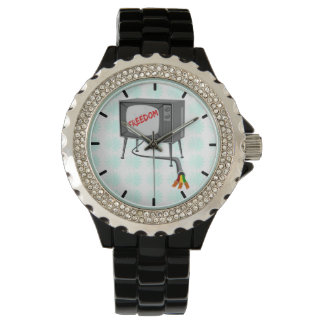 Television Freedom Wrist Watch