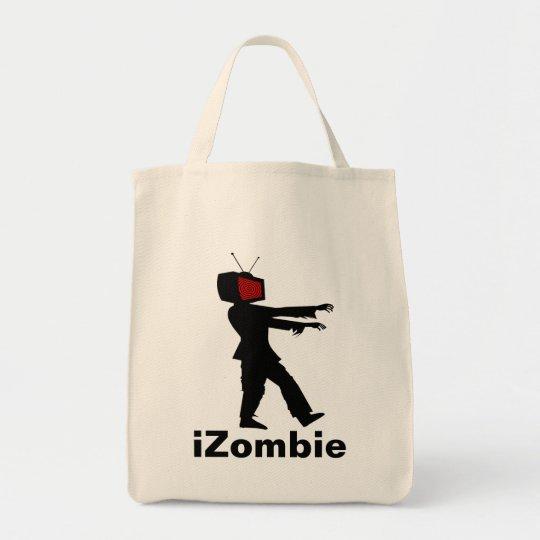 Television Head iZombie Zombie Design Tote Bag