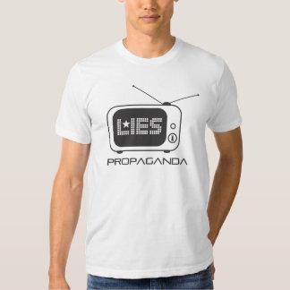 Television is Propaganda and Lies Shirts