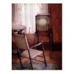 Televisión - la invención de la televisión tarjeta postal