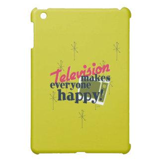 Television Makes Everyone Happy! Case For The iPad Mini