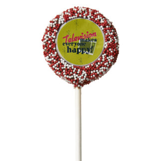 Television Makes Everyone Happy! Chocolate Covered Oreo Pop