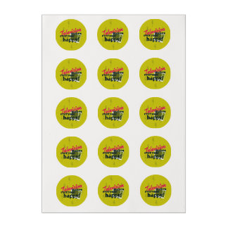 Television Makes Everyone Happy! Edible Frosting Rounds