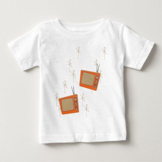 Television Makes Everyone Happy! Falling TVs Baby T-Shirt