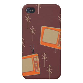 Television Makes Everyone Happy! Falling TVs iPhone 4/4S Cover