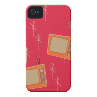 Television Makes Everyone Happy! Falling TVs iPhone 4 Case
