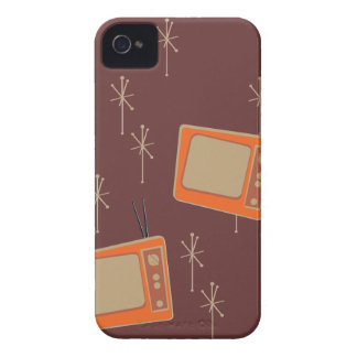 Television Makes Everyone Happy! Falling TVs iPhone 4 Cover