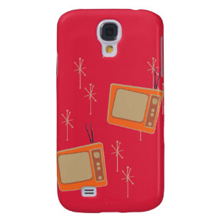 Television Makes Everyone Happy! Falling TVs Samsung Galaxy S4 Cover