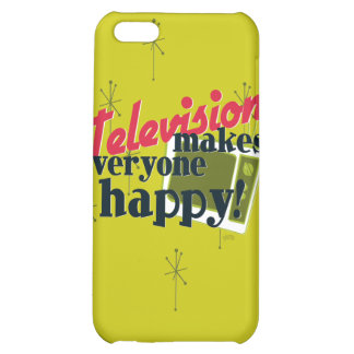 Television Makes Everyone Happy! iPhone 5C Cover