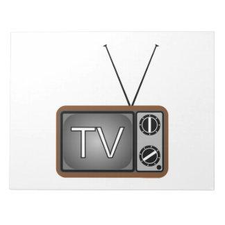 Television Memo Note Pad