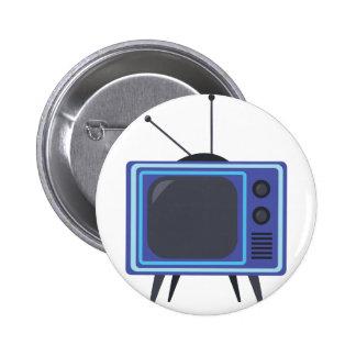 Televisión Pin Redondo De 2 Pulgadas