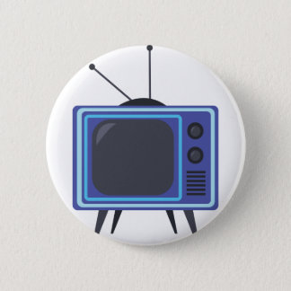 Television Pinback Button