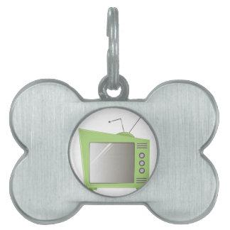 Televisión Placas Mascota