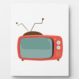 Television Plaque