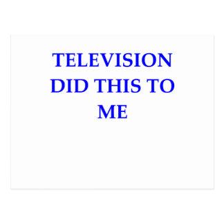 TELEVISIÓN POSTALES