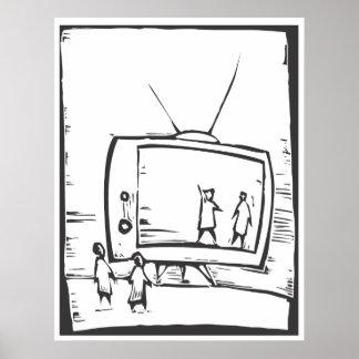 televisión póster