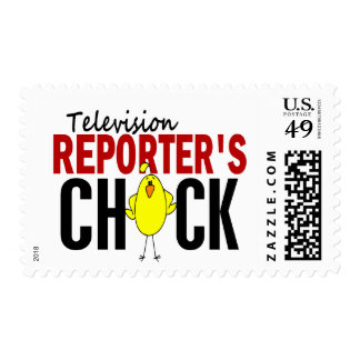 Television Reporter's Chick Stamp