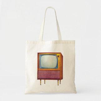 Televisión retra del kitsch TV del vintage