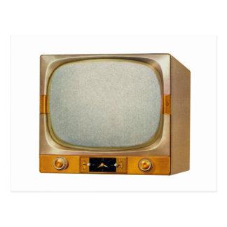 Televisión retra del kitsch TV del vintage Postales
