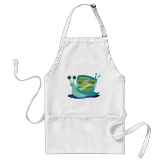 Television snail aprons