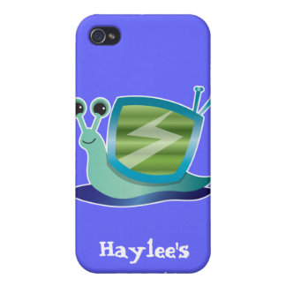Television snail iPhone 4/4S case