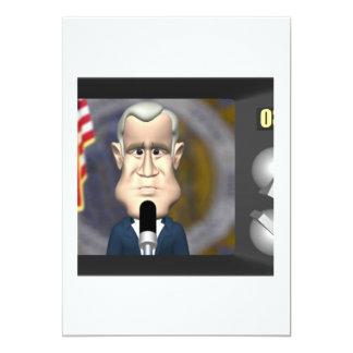 Television Speech Card