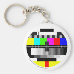 Televisión/Televisión/TV Llavero Redondo Tipo Pin