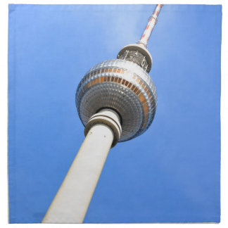 Television Tower (Fernsehturm) in Berlin, Germany Napkin